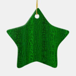 Multi grüne Farbhintergrund Keramik Ornament