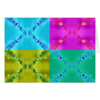 Multi Kräuselungs-Fraktale Karte