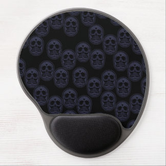 Multi-Schädel Ver.3 Traube lila Gel Mousepad