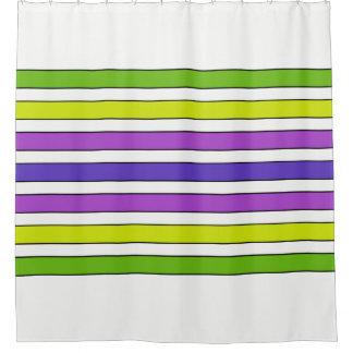 Multi Streifen Duschvorhang