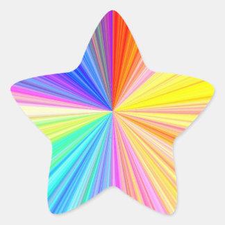 Multi Zweck Schreiben-auf n-dekorativem Stern-Aufkleber