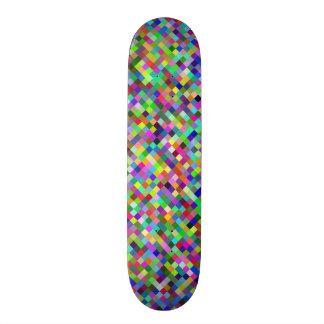 multicolor digital graphic design skateboarddecks
