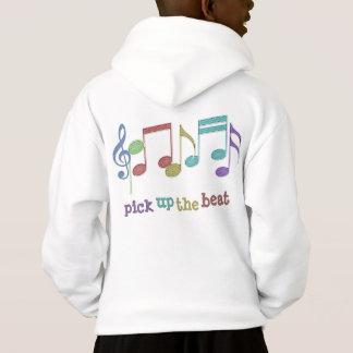 Multicolores linéaires de notes musicales PRENNENT