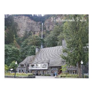 Multnomah Fall-Häuschen-Reise-Foto Postkarten