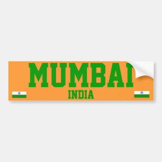 Mumbai-Autoaufkleber Autoaufkleber