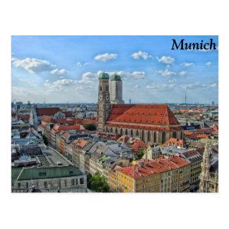 München, Deutschland Postkarte