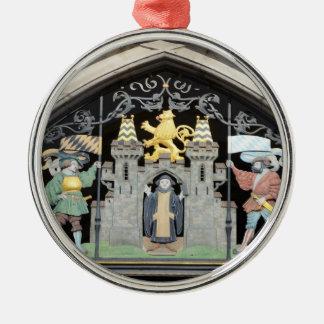 München, Deutschland Silbernes Ornament