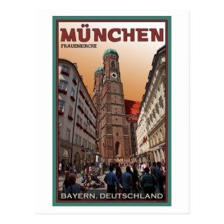 München - Frauenkirche Postkarte