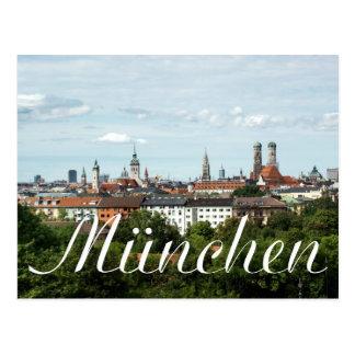München Postkarte