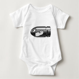 Munition verärgert baby strampler