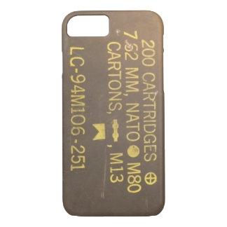 Munitions-Kasten iPhone 8/7 Hülle