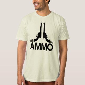 Munitions-Shirt - Revolver-Druck T-Shirt
