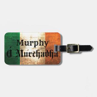 Murphy-Iren-Flagge Gepäckanhänger