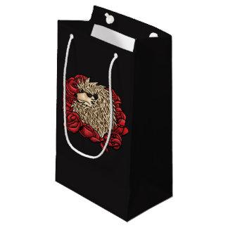 Mürrische Igels-Geschenk-Tasche Kleine Geschenktüte