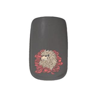 Mürrische Igels-Nagel-Kunst Minx Nagelkunst