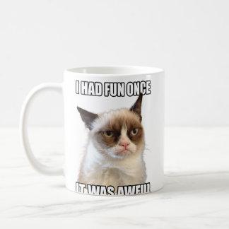 Mürrische Katzen-Tasse Tasse