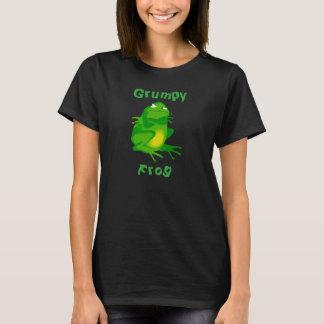 Mürrischer der Frosch-T - Shirt der Frauen