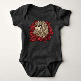 Mürrischer Igels-Baby-Anzug Baby Strampler