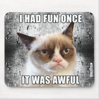 Mürrisches Cat™ Mousepad - ich hatte Spaß einmal
