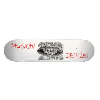 Musashi entwirft DM-Knochen 19,1 Cm Old School Skateboard Deck
