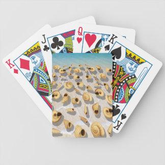 Muscheln Bicycle Spielkarten