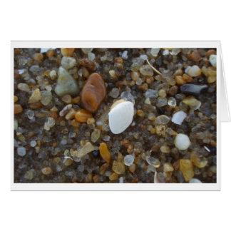 Muscheln und Sand, Ozean-Stadt, MD Mitteilungskarte