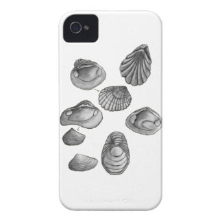 Muschelskizze Case-Mate iPhone 4 Hülle