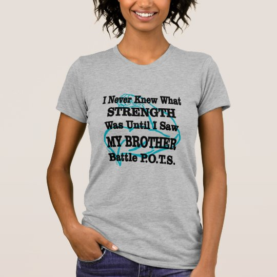 Muscle/I kannte nie… Bruder T-Shirt