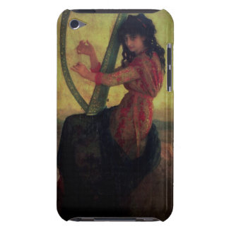 Muse jouant l'harpe coque iPod touch