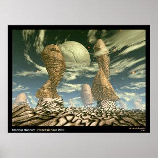 Musée de Starship - planète Mandos 2902