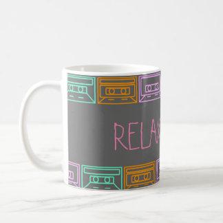Music&Coffe= Entspannung Kaffeetasse