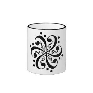 Music Flower Mug Ringer