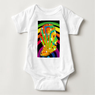 Music Head Baby Strampler