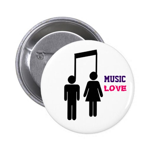 MUSIC LOVE BUTTONS