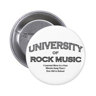 MUSIC-ROCK MUSIK RUNDER BUTTON 5,7 CM