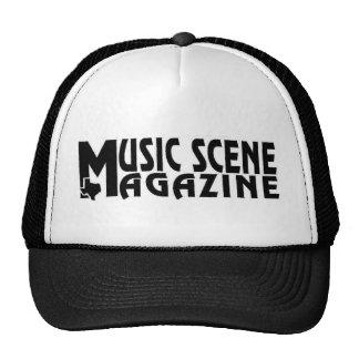 MUSIC-SCENE-LOGO TRUCKER CAP