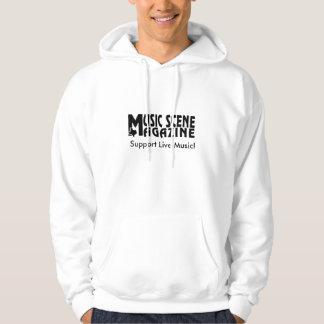 MUSIC-SCENE-LOGO, StützLive-Musik! Sweatshirts