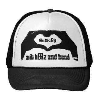 musicER MIT hERz und Hand Netzcap