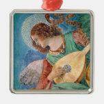 Musicien d'ange décoration pour sapin de noël