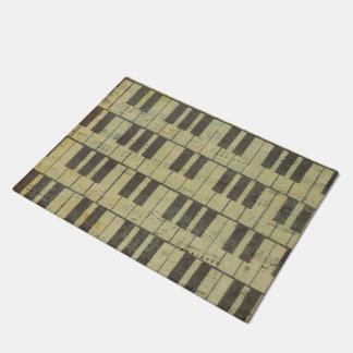 Musik Anmerkungs-Muster-Musik-Thema-Fußmatte Türmatte
