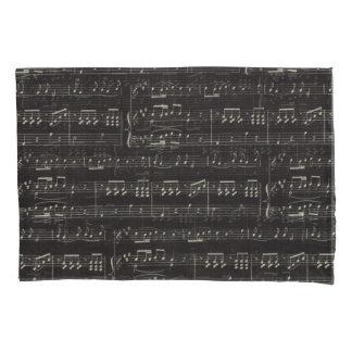 Musik Anmerkungs-Muster-Musik-Thema-Kissen-Kasten Kissenbezug