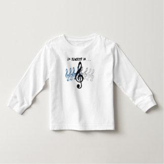 """Musik-Ausdrücke """"ich bin IMMER in dreifacher"""" T-shirts"""