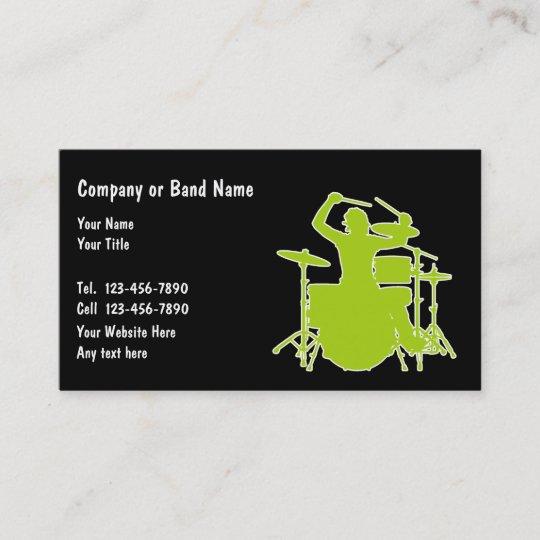 Musik Band Visitenkarten Visitenkarte