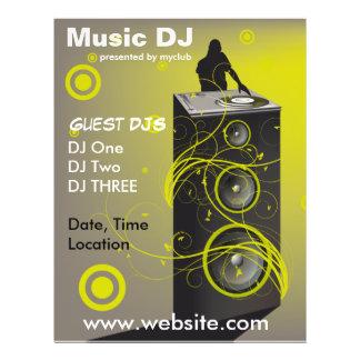 Musik DJ-Rave-Flyer 21,6 X 27,9 Cm Flyer