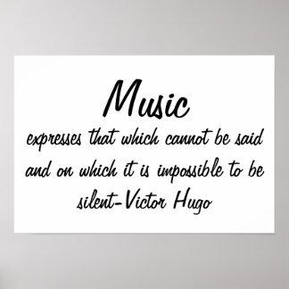 Musik drückt… aus poster