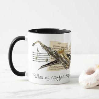 Musik-Entwurfs-Kaffee-Tasse Tasse