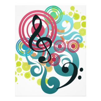 Musik Vollfarbige Flyer