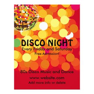 Musik-Flyer der Disco-Nacht2