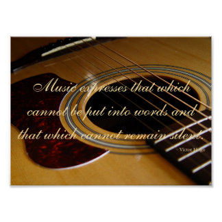 Musik I Poster