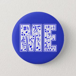 Musik in mir runder button 5,1 cm